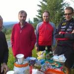 Abschlusstraining Krabbelgruppe Juli 2015 - Schweizerkopfhütte