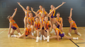 Aerobic-Team vom TSV Dobel