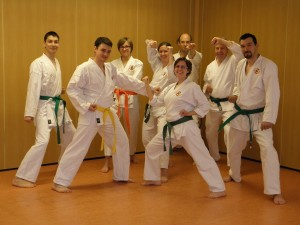 Abteilung Karate: Prüfung zum 6. KYU, 7.KYU und 8.KYU