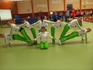 Aerobic- Team erfolgreich bei den offenen Baden-Württembergischen Meisterschaften