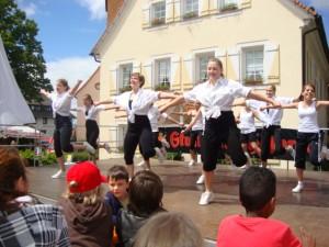 Auftritt beim Dobler Dorffest 2013
