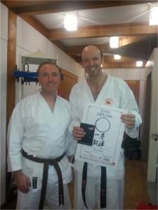 Karate Prüfung am 07.12.2013