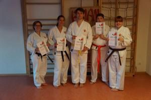Karate - Sommer-Prüfung am 01.07.2014