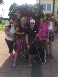 Nordic-Walking-Training beim TSV Dobel