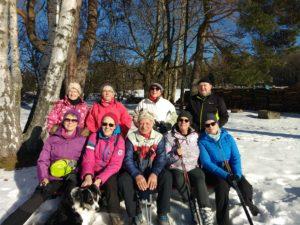 Nordic-Walking mit dem TSV Dobel