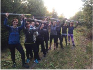 Nordic-Walking-Training für Einsteiger